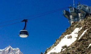 """SkyWay: il Monte Bianco a """"portata di mano"""""""