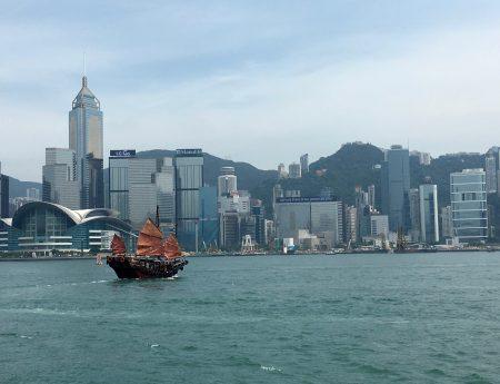 Hong Kong, un drink tra le nuvole