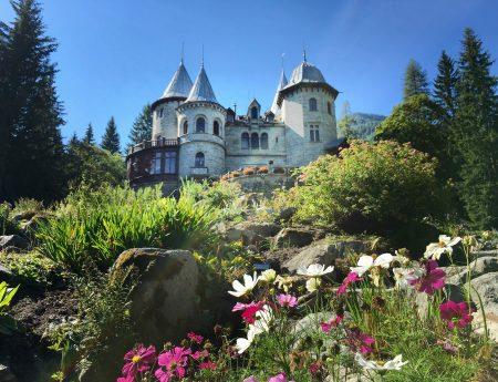 Gressoney-Saint-Jean, il castello delle fiabe